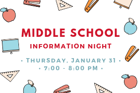 Middle School Parent Information Night
