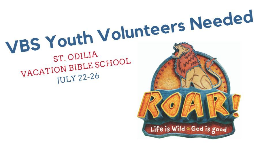 VBS Youth Volunteers Needed