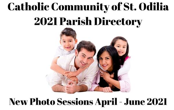 Parish Directory Photo Sign-Ups Postponed until April 2021